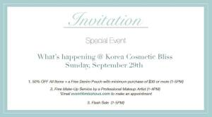 Missha FB Invitation