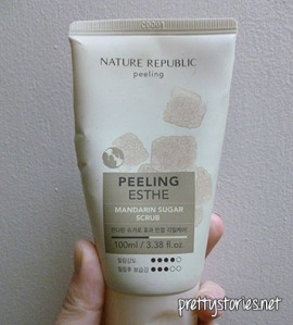 Nature Republic Mandarin Sugar Scrub