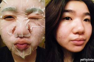 Kracie Mask On